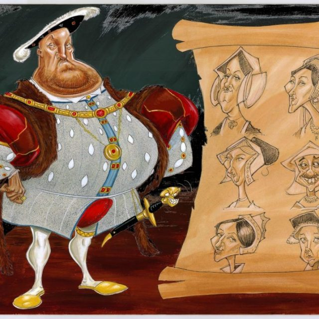 HENRY VIII & 6 WIVES