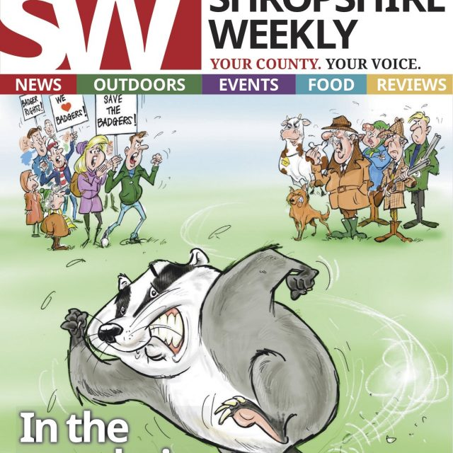 Cartoon Illustration for Shropshire Weekly