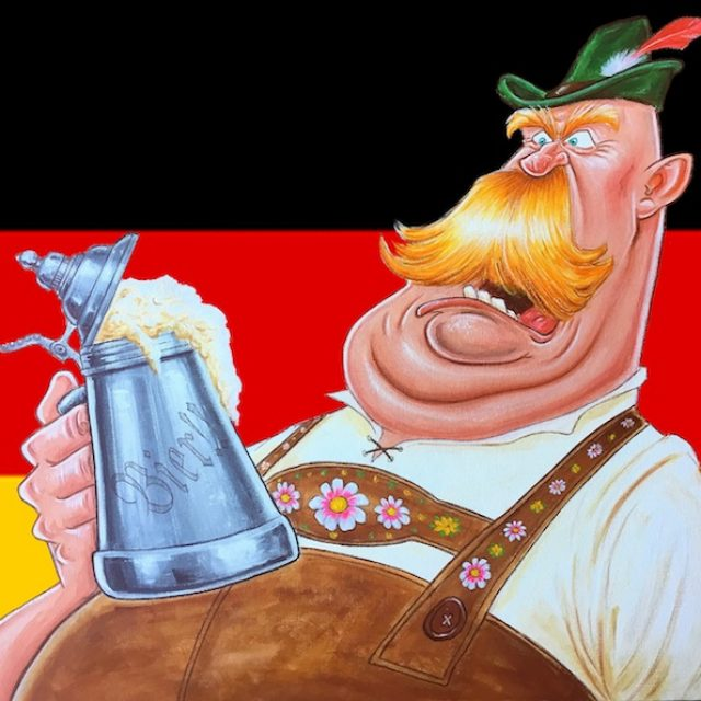TRADITIONAL GERMAN CHARACTER