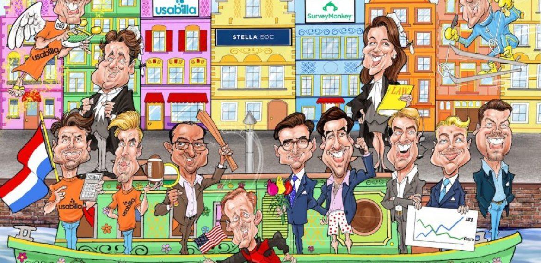 Corporate Digital Caricatures