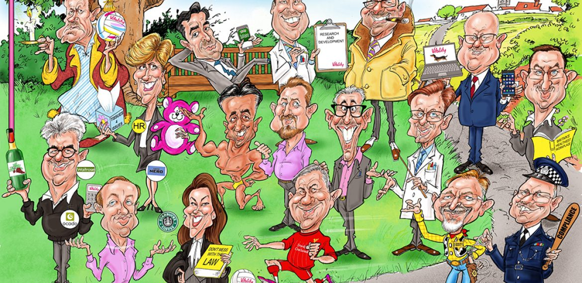 Corporate Digital Gift Caricatures