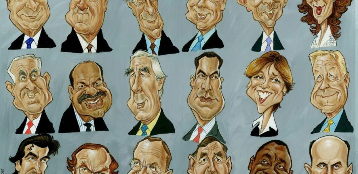 Corporate Gift Caricatures