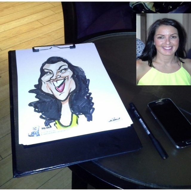 LIVE CARICATURES MARKER COLOUR