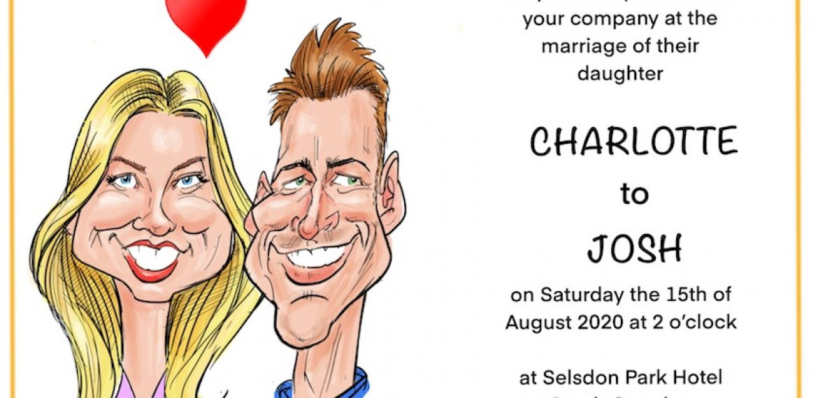 INVITATION CARICATURES