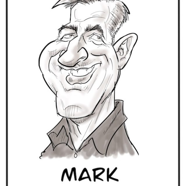 PLACE SETTING CARICATURES