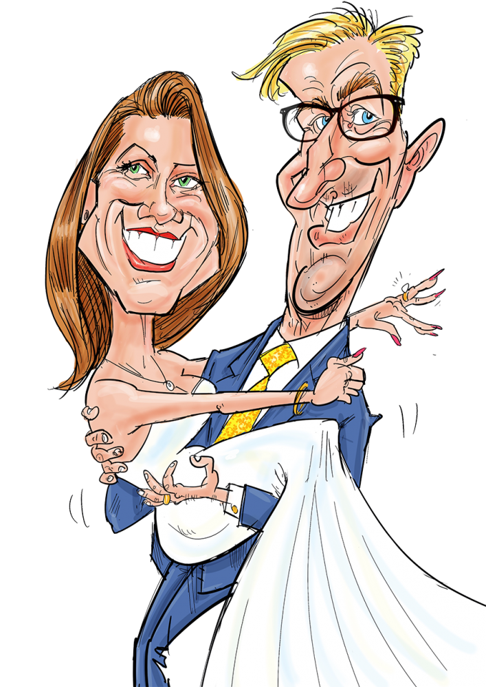 service Wedding Caricatures